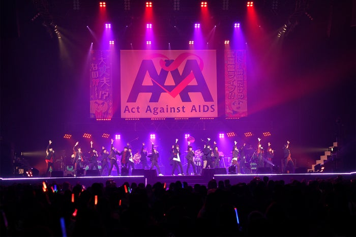 「Act Against AIDS 2018『THE VARIETY 26』」(画像提供:アミューズ)