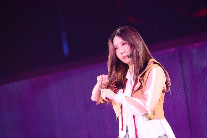 古畑奈和「AKB48グループ感謝祭~ランクインコンサート~」(C)AKS