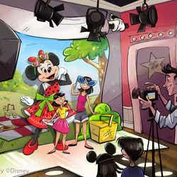 「ミニーのスタイルスタジオ」 ※写真はイメージ(C)Disney