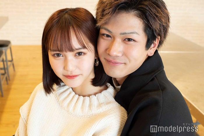 モデルプレスのインタビューに応じた西綾乃、三島啓史 (C)モデルプレス