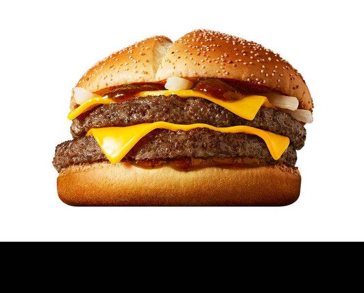 マクドナルド「炙り醤油風 ダブル肉厚ビーフ」「炙り醬油風 ベーコントマト肉厚ビーフ」新登場