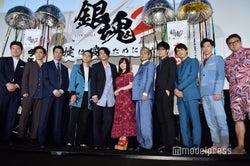 映画『銀魂2 掟は破るためにこそある』初日舞台挨拶(C)モデルプレス