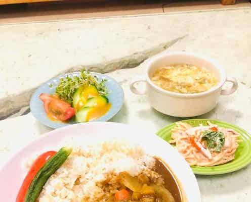 城咲仁、妻が結婚して初めて作ってくれたカレーライスを公開「ほっこりな夕飯でした」