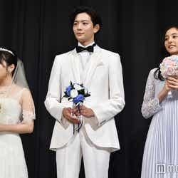 (左から)志田未来、竜星涼、新木優子(C)モデルプレス