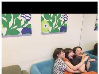 """平祐奈&岡本夏美&吉川日菜子""""おはガール""""集合ショットに「懐かしい」の声"""