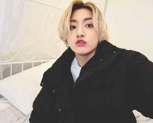 金髪イメチェン話題のBTSジョングク、自撮り写真公開に世界中のファン歓喜「王子様」「好きすぎる」