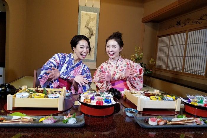 (左から)三船美佳、おのののか/画像提供:テレビ大阪