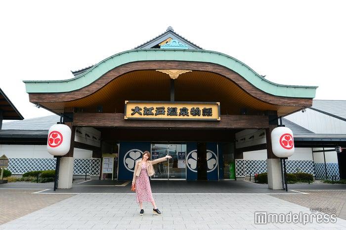 佇まいも立派な「東京お台場 大江戸温泉物語」(C)モデルプレス
