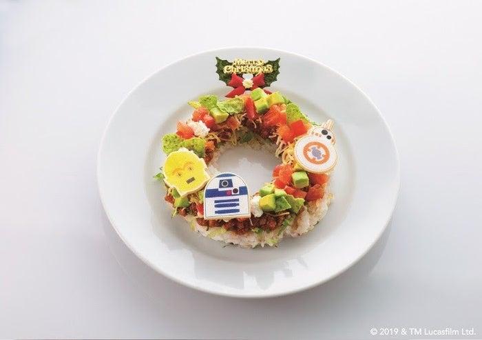 ホリデー・リース・タコライス1,650円(税込)/画像提供:丸の内PR事務局