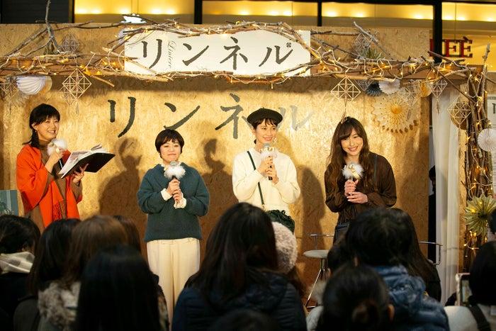 (左から2番目)西山千香子氏、(左から3番目)kazumi(提供写真)