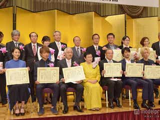 能年玲奈、綾野剛が新人賞受賞 豪華俳優集結の「橋田賞」授賞式