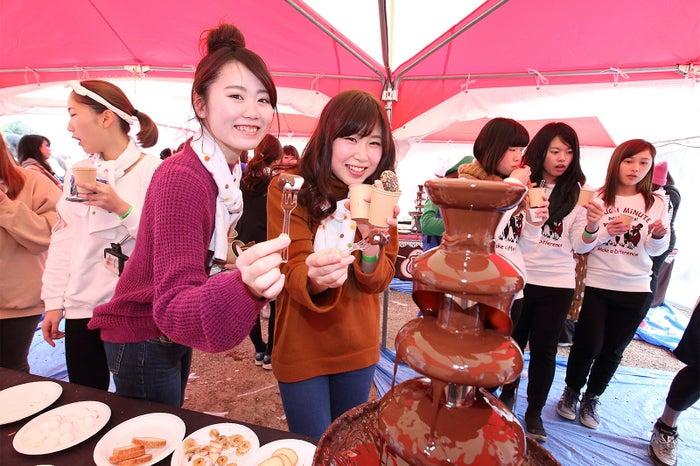 チョコラン過去開催時の様子/画像提供:スポーツワン/画像提供:スポーツワン