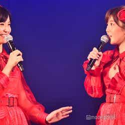 下尾みう、宮崎美穂/AKB48岡部チームA「目撃者」公演(C)モデルプレス