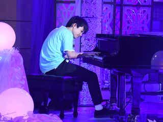 ジャニーズWEST重岡大毅「24時間テレビ」でピアノ生演奏 志村けんさんと縁あるメンバーが合唱