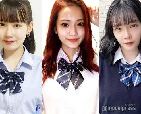 <中間速報>日本一かわいい高校一年生「高一ミスコン2021」暫定上位5人を発表