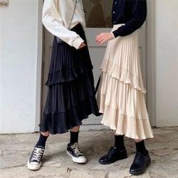 【体型のお悩み別】スカートの着こなし術