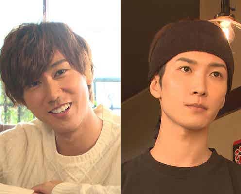 """Snow Man渡辺翔太&阿部亮平、カッコよすぎる""""神店員""""に スタジオも興奮「好きになっちゃう」"""