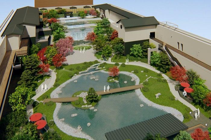天空庭園(屋上庭園)/画像提供:大阪ベイタワー合同会社