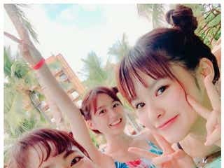 乃木坂46生田絵梨花ら、水着姿でハワイ満喫「可愛すぎ」「家族みたい」と反響