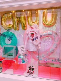 韓国の人気ファッション「chuu」日本初上陸 ポップアップストアが原宿に限定オープン