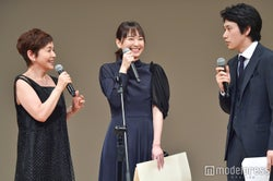 大竹しのぶ、新垣結衣、松山ケンイチ(C)モデルプレス
