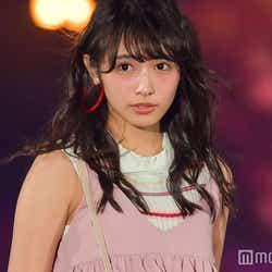 モデルプレス - 欅坂46渡辺梨加、緊張のランウェイデビュー ピンクコーデで可愛さ全開<GirlsAward 2017 S/S>