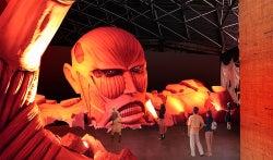 リアルな巨人が襲来!富士急に「進撃の巨人」テーマランドが誕生