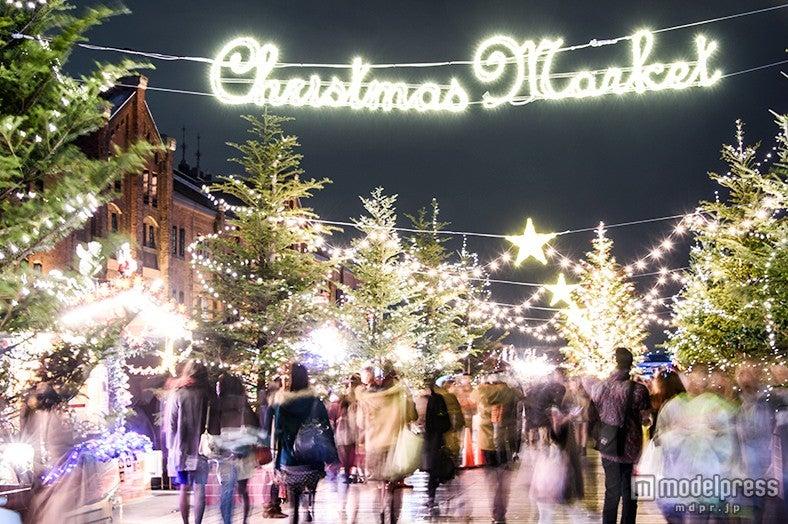 クリスマス何する?彼と出かけたいデートスポット8選/クリスマスマーケット in 横浜赤レンガ倉庫【モデルプレス】