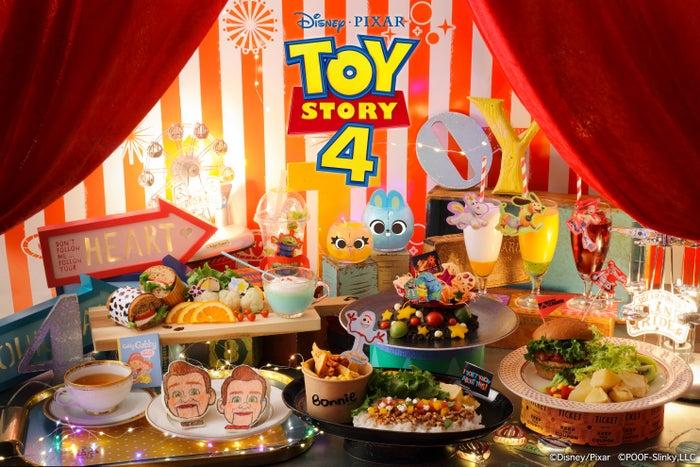OH MY CAFEメインビジュアル (C)Disney/Pixar(C)POOF-Slinky,LLC