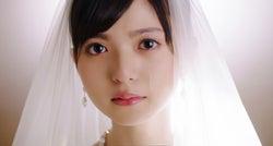 乃木坂46齋藤飛鳥が涙 純白ウェディングドレス姿披露<あの頃、君を追いかけた>