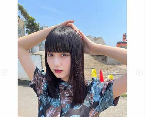 鶴嶋乃愛、ロングヘアをバッサリカット「新鮮」「天才的に可愛い」と反響