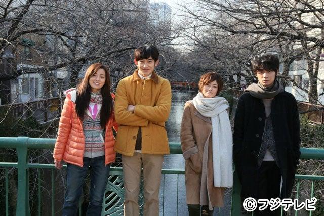 「最高の離婚」が来年2月にSPドラマとして帰ってくる(写真左から:尾野真千子、瑛太、真木よう子、綾野剛)