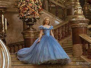 ディズニー実写版「シンデレラ」役リリー・ジェームズが初来日、豪華絢爛な舞踏会を再現