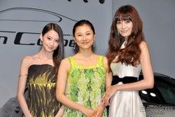 菊川怜×ヨンア×河北麻友子、華やかミニドレスで美の競演