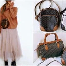 【しまむら】見つけたら即買い!セ〇ーヌ風バッグがとにかくかわいい!