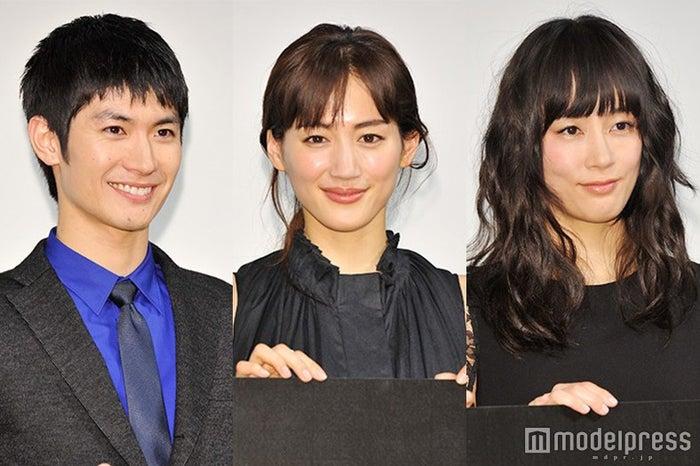 """(左から)三浦春馬、綾瀬はるか、水川あさみが語った""""夢を叶える秘訣""""(C)モデルプレス"""