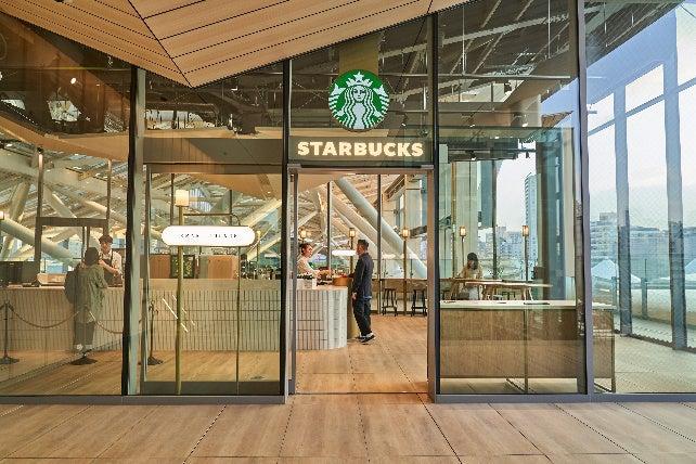 スターバックス コーヒー 高輪ゲートウェイ駅店/画像提供:スターバックス コーヒー ジャパン