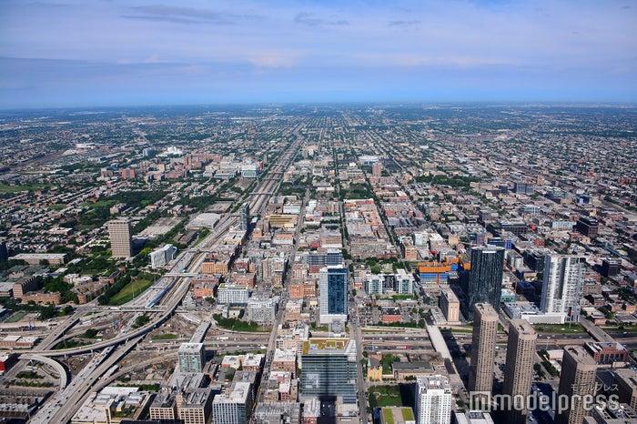 シカゴの摩天楼を一望(C)モデルプレス