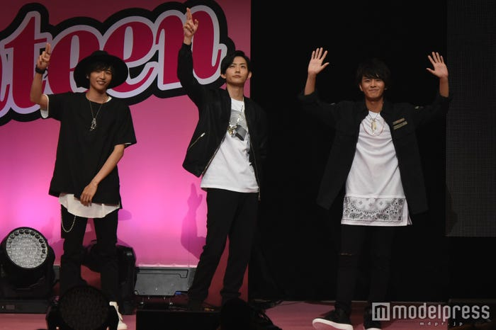 チャラ男チーム(左から)志尊淳、竜星涼、中尾暢樹(C)モデルプレス