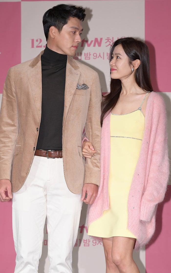 ヒョンビン、ソン・イェジン/Photo by Getty Images