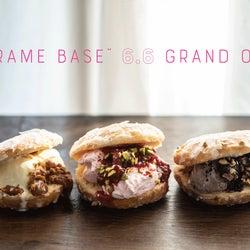 「ZARAME BASE」新ドーナツカフェが京都に、アイスサンドや猿田彦珈琲ブレンドも