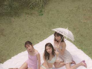 NMB48村瀬紗英・桃月なしこ・あわつまい、夏水着を先取り