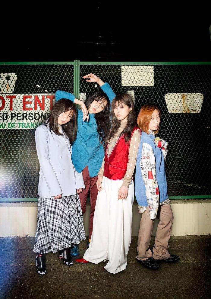 赤い公園(左から)藤本ひかり、津野米咲さん、石野理子、歌川菜穂(提供写真)