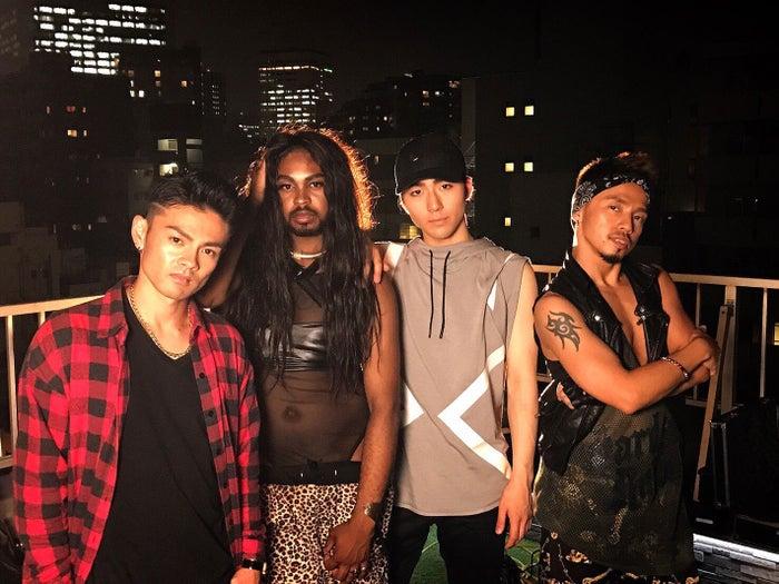 (左から)龍太-Ryota-、Cody、矢内康洋、ICHI(提供写真)