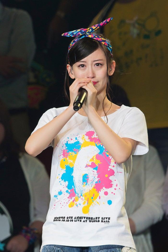 上西恵が卒業を発表/「NMB48 6th Anniversary Live」1日目(C)NMB48