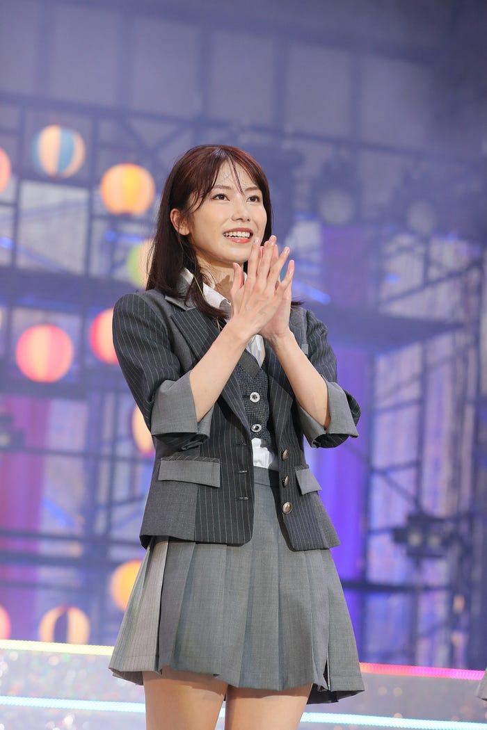 横山由依「MX夏まつり AKB48 2021年最後のサマーパーティー!」(C)AKB48
