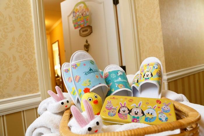 春をテーマにしたホテル無料アメニティ(C)Disney