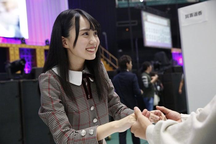"""賀喜遥香/乃木坂46""""4期生お見立て会""""(提供写真)"""