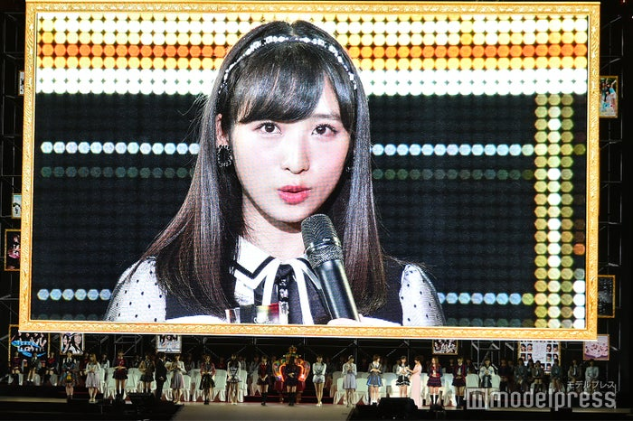 小栗有以「AKB48 53rdシングル 世界選抜総選挙」 (C)モデルプレス