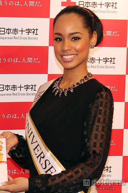 2015ミス・ユニバース日本代表、世界大会へ向け意欲【モデルプレス】